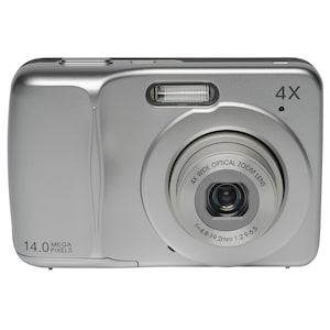 MEDION® 14.0 MP Digitalkamera LIFE® E43020, Großes 6,86 cm / 2,7 LC-Display, 14.0 Megapixel CCD Sensor, 4-fach optischer Zoom, 5-fach digitaler Zoom, 27 mm Weitwinkel-Objektiv, HD Videoauflösung 720p