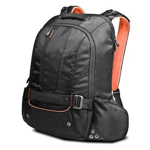 EVERKI Beacon Laptop Rucksack, 180° aufklappbares Hauptfach, 5-Punkt-Gurt-System, luftgepolsterte Rückwand, Schutztasche für Spielekonsolen