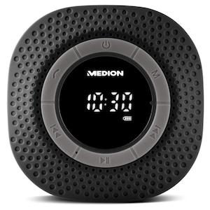 MEDION® LIFE® E66554, Duschradio mit Bluetooth-Funktion, Bluetooth 4.0, PLL UKW Radio, Freisprecheinrichtung, Saugnapf (B-Ware)