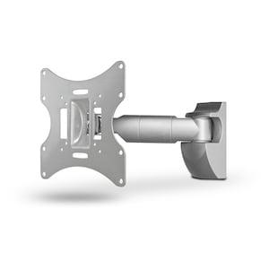 WENTRONIC goobay® EasyScope M TV-Wandhalterung, für Geräte von 17'' bis 42'' (43-107cm), neig- & schwenkbar, VESA max. 200x200mm, Traglast 30 kg