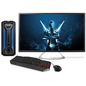 MEDION® ERAZER® X67039, Intel® Core™ i7-8700, Windows 10 Home, GTX 1070, 512 GB PCIe SSD, 2 TB HDD, Gaming PC inkl. Monitor + Gaming Zubehör