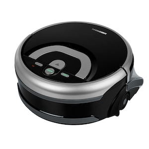 MEDION® Wischroboter MD 18379, mit intelligenter Navigation, vollautomatische Nassreinigung, 0,8 l Wasserbehälter, bis zu 80 Min Laufzeit
