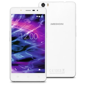 MEDION® LIFE® S5004 Smartphone, 12,7 cm (5) HD-Display, Android™ 5.1, 16 GB Speicher, Octa-Core Prozessor