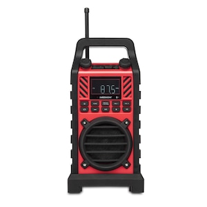 MEDION® LIFE® E66263 Outdoor Radio mit Bluetooth-Funktion, UKW Radio, SD-Kartenleser, USB-Anschluss und AUX Eingang, 50 Watt