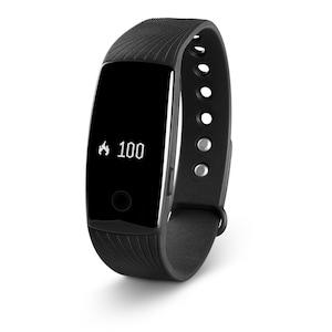 MEDION® LIFE® E1000 Fitnessarmband, OLED Display, flexibles Armband, Schrittzähler, Kalorienverbrauchsmesser, Schlafüberwachung