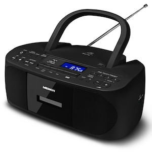 MEDION® LIFE E64070 Draagbare radio | MP3 | FM | CD | Cassette