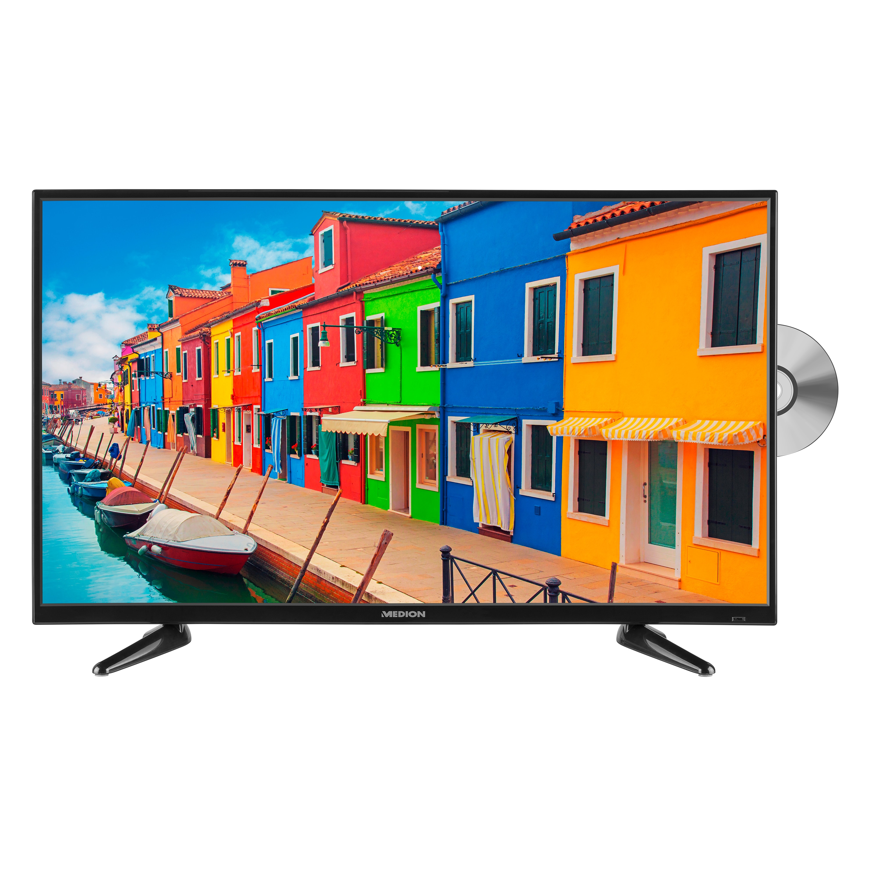 MEDION® LIFE® P14064 TV, 100,3 cm (40''), Full HD, HD Triple Tuner (DVB-S2, -C, -T2 HD), integrierter Mediaplayer, CI+