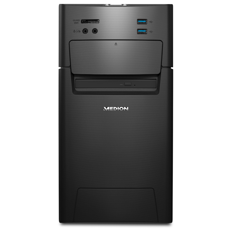 MEDION® AKOYA® P5331, Intel® Core™ i5-6402P, Windows10Home, AMD Radeon™ RX 460, 8 GB RAM, 128 GB SSD, 1 TB HDD, Multimedia PC (B-Ware)