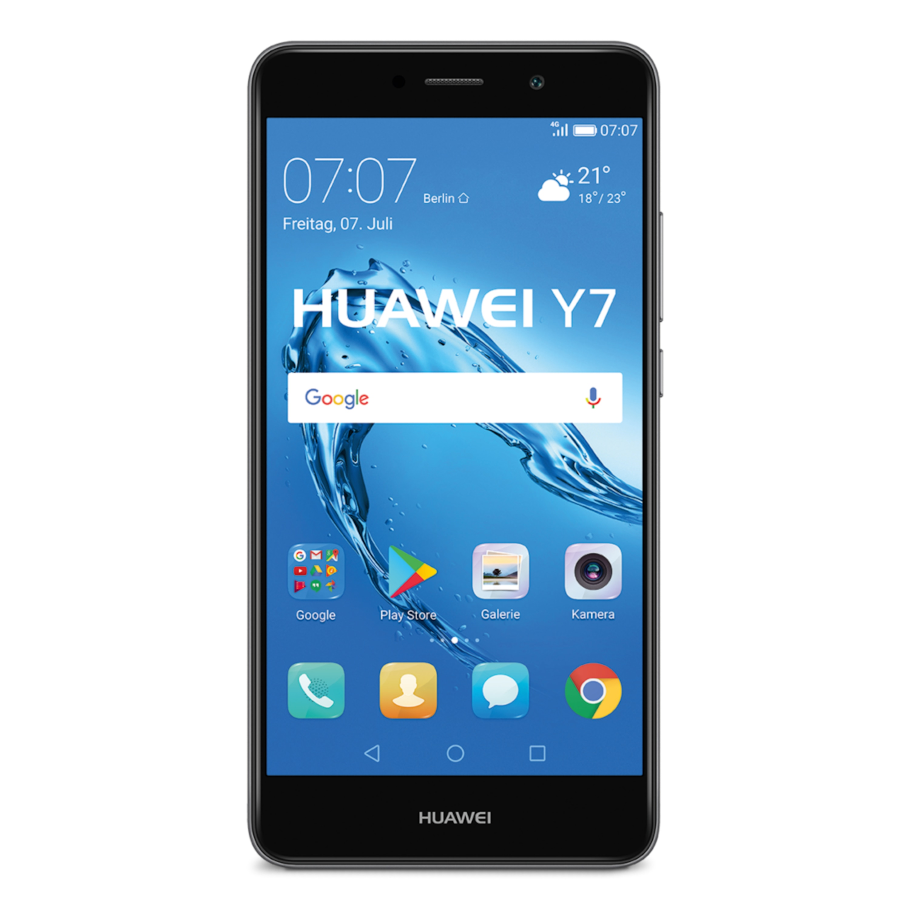 HUAWEI Y7 Smartphone, 13,97 cm (5,5) HD-Display, Android™ 7.0, 16 GB Speicher, Octa-Core-Prozessor
