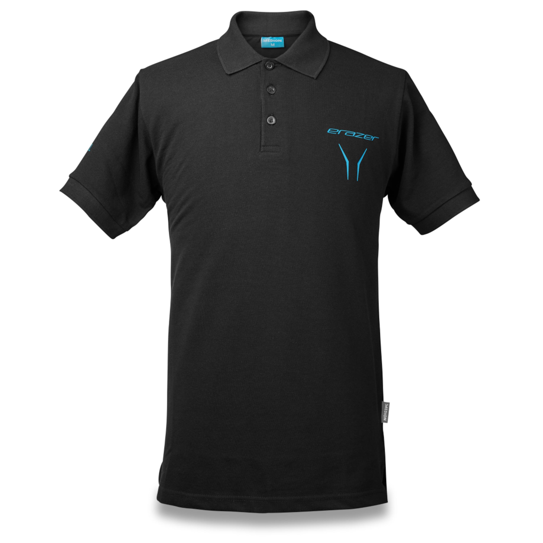 MEDION® ERAZER® S89050 Polo Shirt, Mit ERAZER Logo und Schriftzug, Hochwertiger Stoff, Größe XL