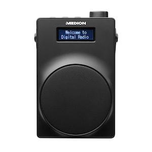 MEDION® LIFE® E66880 DAB+/PLL-UKW Radio, 4,57 cm (1,8'') LC-Display, Kopfhöreranschluss, USB Ladeanschluss, 30 W (3 W RMS)