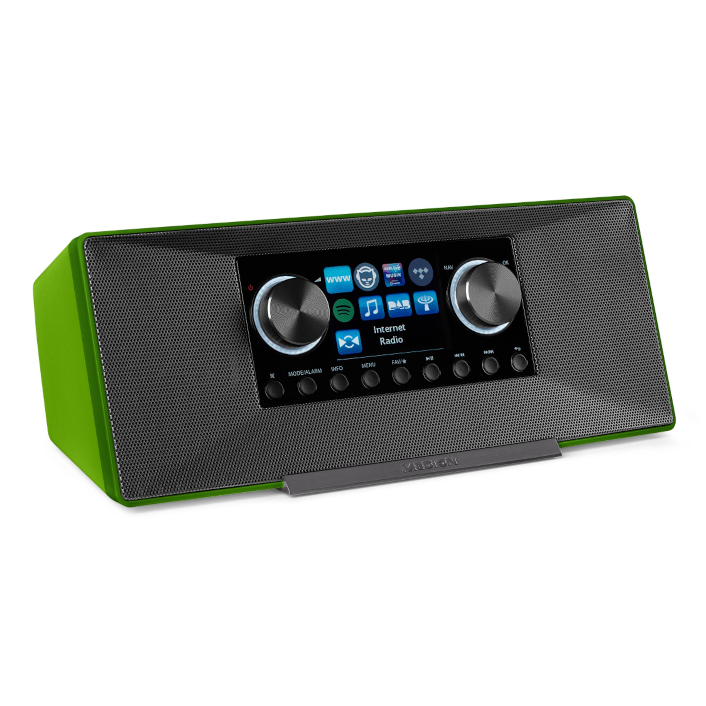 MEDION® LIFE® P85135 WLAN Internet-Radio, LifeStream App, DLNA-/UPnP -Kompatibilität, Spotify, DAB + & FM/UKW -Radio-Tuner