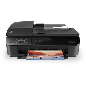 HP Officejet 4632 e-All-in-One, All-in-One Wireless LAN Drucker, Drucken, Kopieren, Scannen & Faxen, 5 cm Monodisplay, USB 2.0