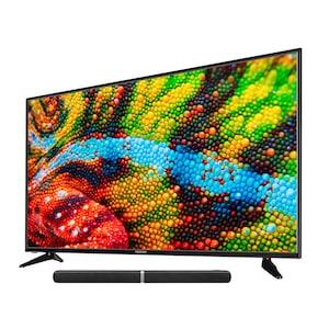 MEDION® LIFE® P15522 Smart-TV, 146,1 cm (58'') Ultra HD Display, HDR, PVR ready, Netflix, DTS HD, HD Triple Tuner, CI+, inkl. Soundbar E64058