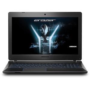 MEDION® ERAZER® P6681, Intel® Core™ i7-7500U, Windows10Home, 39,6 cm (15,6'') FHD Display, GTX 1050, 512 GB SSD, 1.5 TB HDD, 16 GB RAM, Core Gaming Notebook