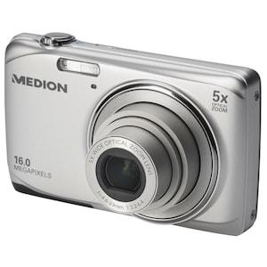 """MEDION® LIFE® E44033 Digitalkamera, 16 MP, 6,86 cm / 2,7"""" LC-Display, 5-fach optischer Zoom, 5-fach digitaler Zoom, HD Videoauflösung 720p, USB-Ladefunktion"""