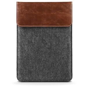 MEDION® Tablet Tasche aus Filz MD 90218, Echtleder Mix, Geeignet für Tablets bis 10,1