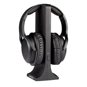MEDION® LIFE E62003 Casque sans fil | Portée d'environ 20 m | 9 heures d'autonomie | Son numérique | Confort de port élevé  | Avec station de charge