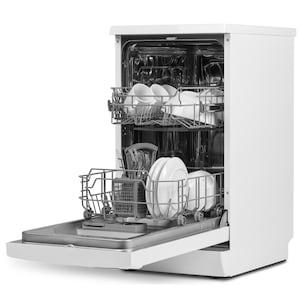 MEDION® Geschirrspüler MD 37187, 9 Maßgedecke Fassungsvermögen, 6 Reinigungsprogramme, Aquastopp