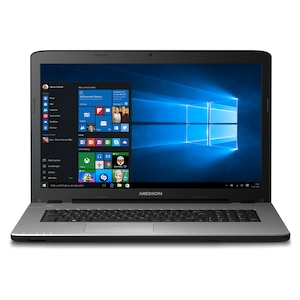 "MEDION® AKOYA® E7424, Intel® Core™ i3-7100U, Windows 10 Home, 43,9 cm (17,3"") Full HD Display, 4 GB RAM, 1,5 TB HDD, 128 GB SSD, Notebook  (B-Ware)"
