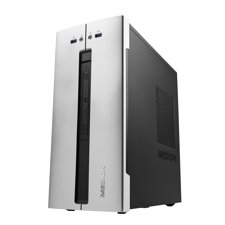 MEDION® AKOYA® E62001, Intel® Core™ i5-9400, Windows10Home, 128 GB SSD, 1 TB HDD, 8 GB RAM, Multimedia PC