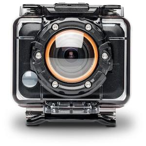 MEDION® LIFE® S47018 WLAN Action Camcorder, 5 MP, Full HD, WLAN-fähig, Armband-Fernbedienung, Video- oder Fotoaufnahme, USB-Ladefunktion