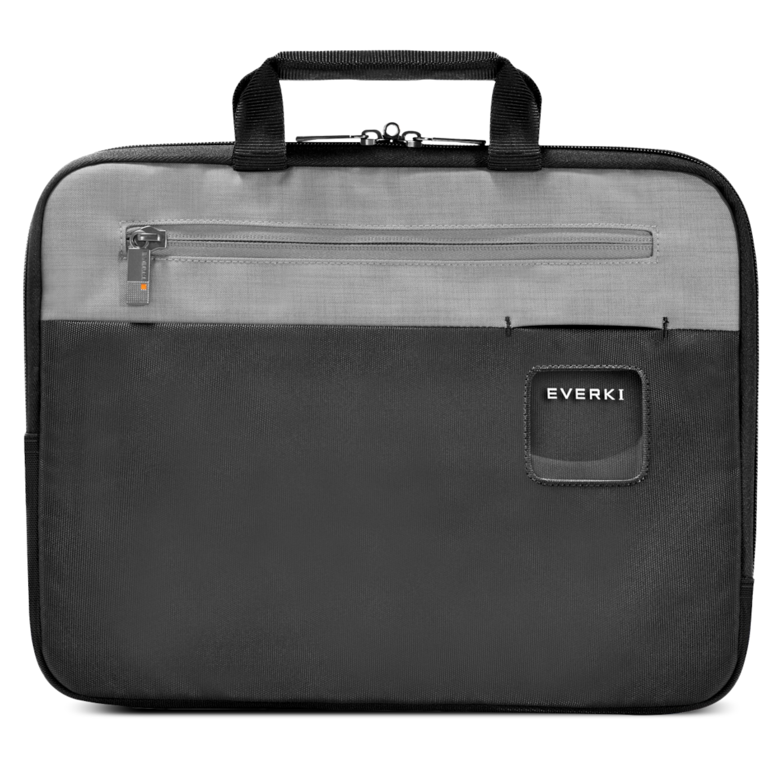 EVERKI ContemPRO Laptop Sleeve, 13,3, Memory-Foam-Polsterung, Personalisierbares Fenster, Langlebige Reißverschlüsse