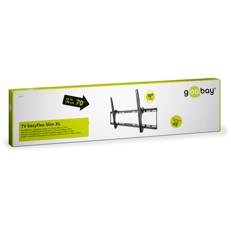 GOOBAY goobay® EasyFlex Slim XL TV-Wandhalterun...