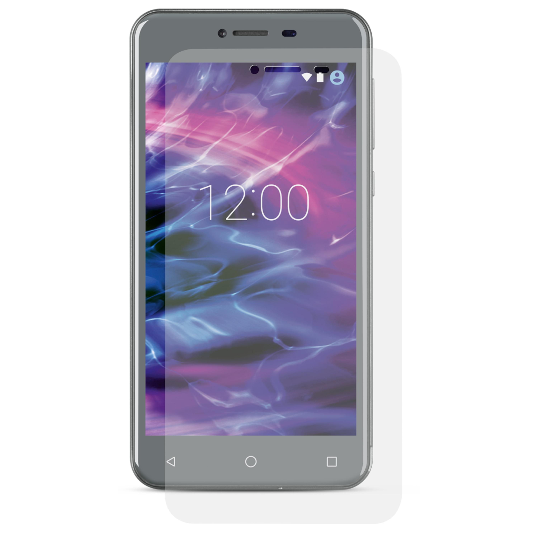 MEDION® Displayschutzfolie MD 61039, 2er Set, Schutz vor Schmutz & Kratzern, Für MEDION® E5008 Smartphone