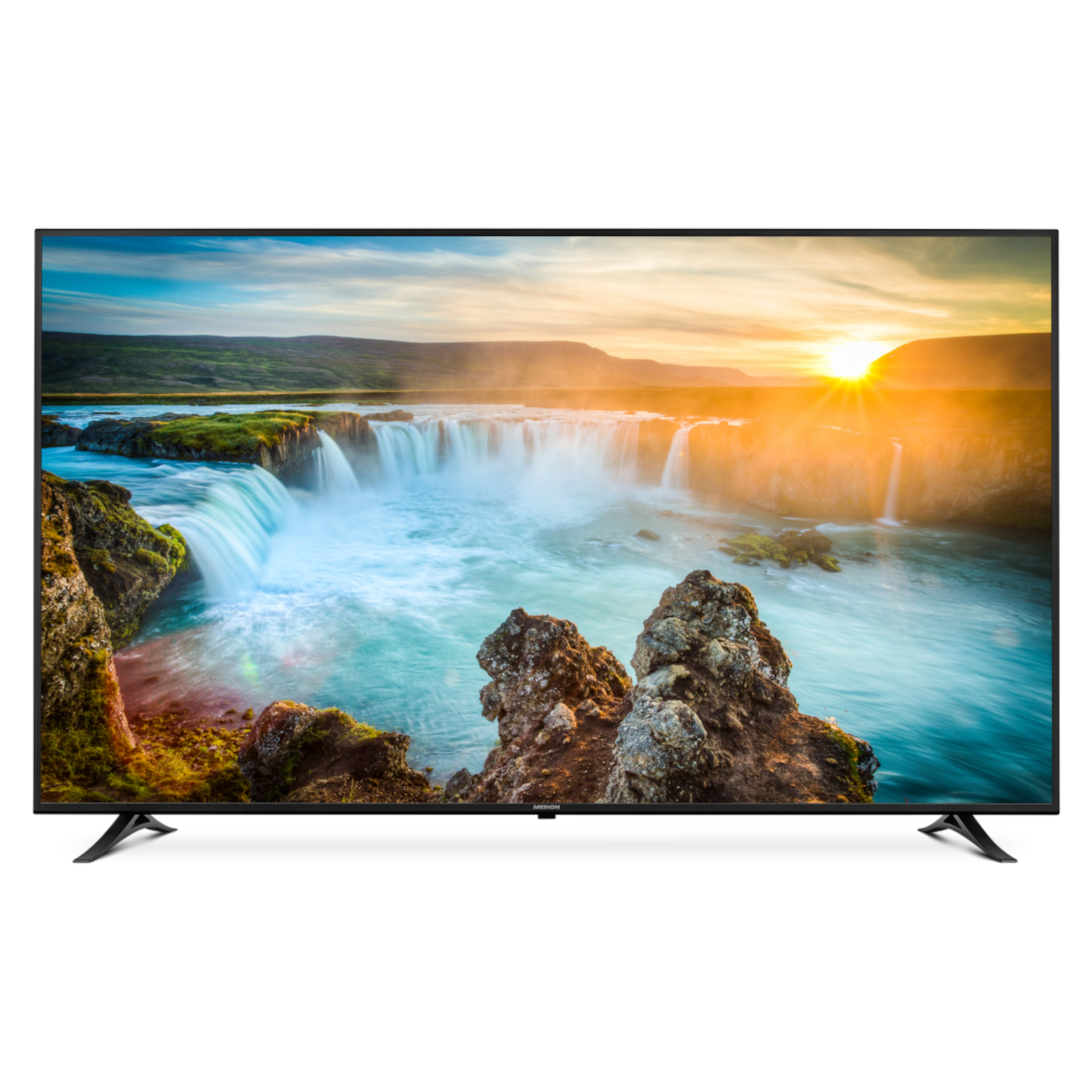 MEDION® LIFE® X18175 Smart TV, 189,3 cm (75) Ultra-HD, DTS Sound, integrierter Subwoofer, Wlan (B-Ware)