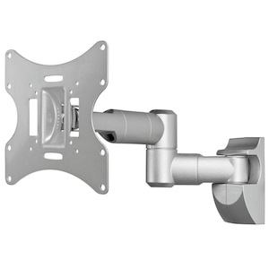 WENTRONIC EasyScope Twin M TV- Wandhalterung, für Geräte von 17'' bis 42'' (43-107cm), neig- & schwenkbar, VESA max. 200x200mm, Traglast 30 kg