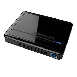 """MEDION® HDDrive2go P82742 externe Festplatte, 750 GB, 6,35cm (2,5""""), USB 3.0"""
