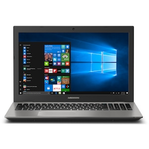 MEDION® AKOYA® E6437, Intel® Core™ i5-7200U, Windows 10 Home, 39,6 cm (15,6) FHD Display, 6 GB RAM, 128 GB SSD, 1 TB HDD, Notebook (B-Ware)