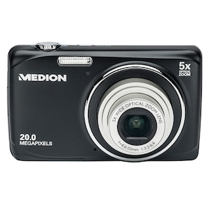 "MEDION® LIFE® P44003 Digitalkamera, 20 MP, 5x optischer Zoom, 5x digitaler Zoom, 6,86 cm (2,7"") LC-Display, USB-Ladefunktion"