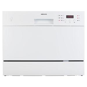 MEDION® Tafelafwasmachine MD 37210 voor 6 couverts | met 6 programma's | geluidsniveau ca. 51 dB
