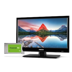 MEDION® LIFE® P13173 TV, 39,6 cm (15,6) LED-Backlight, HD Triple Tuner, Mediaplayer, Car-Adapter inkl. DVB-T2 HD Modul