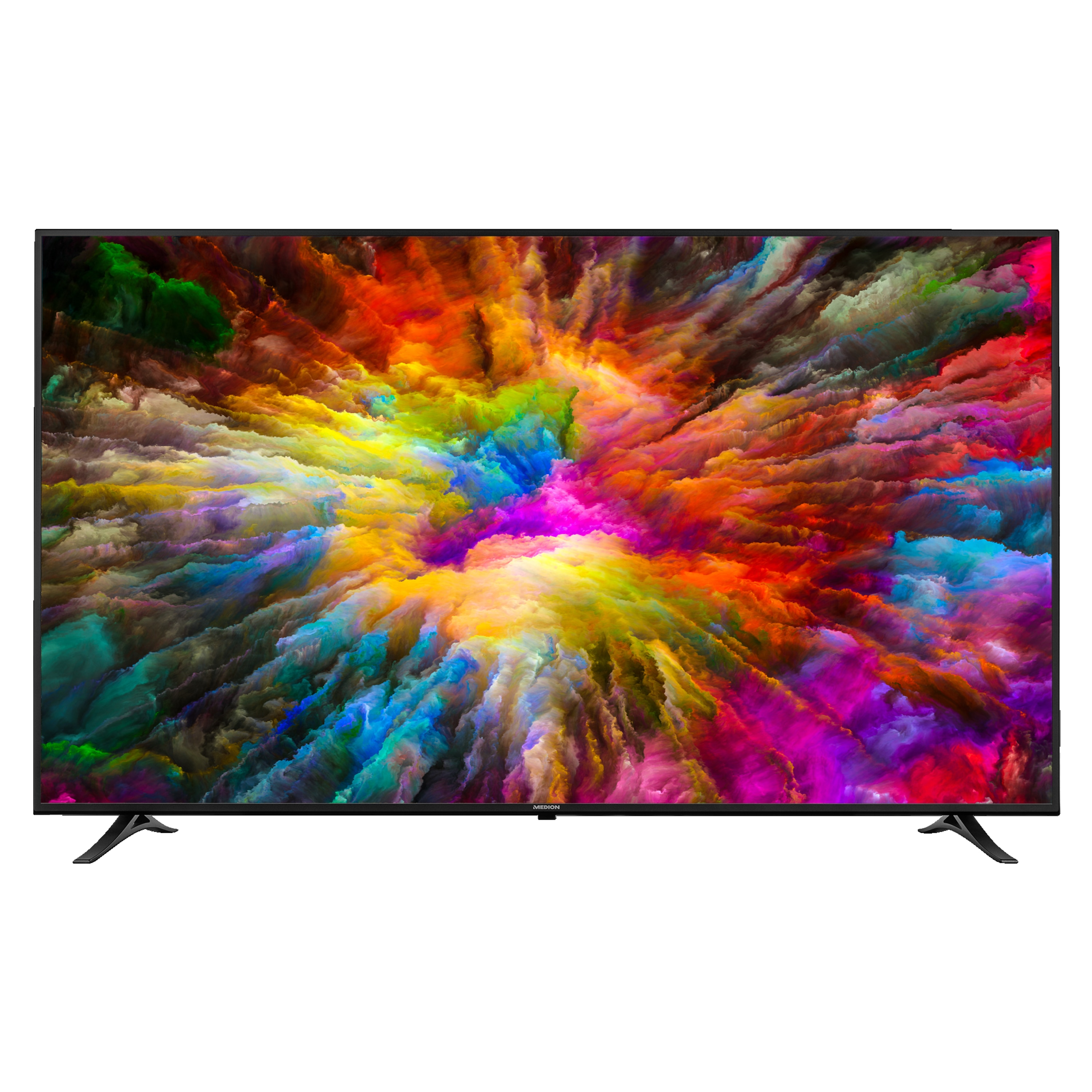 MEDION® LIFE® X17528, Smart-TV, 189,3 cm (75'') Ultra-HD, DTS Sound, WCG, HDR, Wlan, Netflix