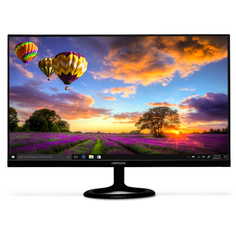 MEDION® AKOYA® P57581 Widescreen Monitor, 68,6 cm (27) Full HD Display, HDMI®, VGA, integrierte Lautsprecher (B-Ware)