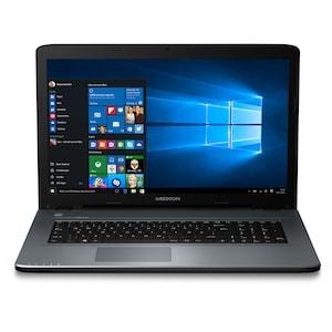 MEDION® MEDION® AKOYA® P7645, Intel® Core™ i5-7200U, Windows 10 Home, 43,9 cm (17,3'') HD Display, 8 GB RAM, 256 GB SSD, Multimedia Notebook  (B-Ware)