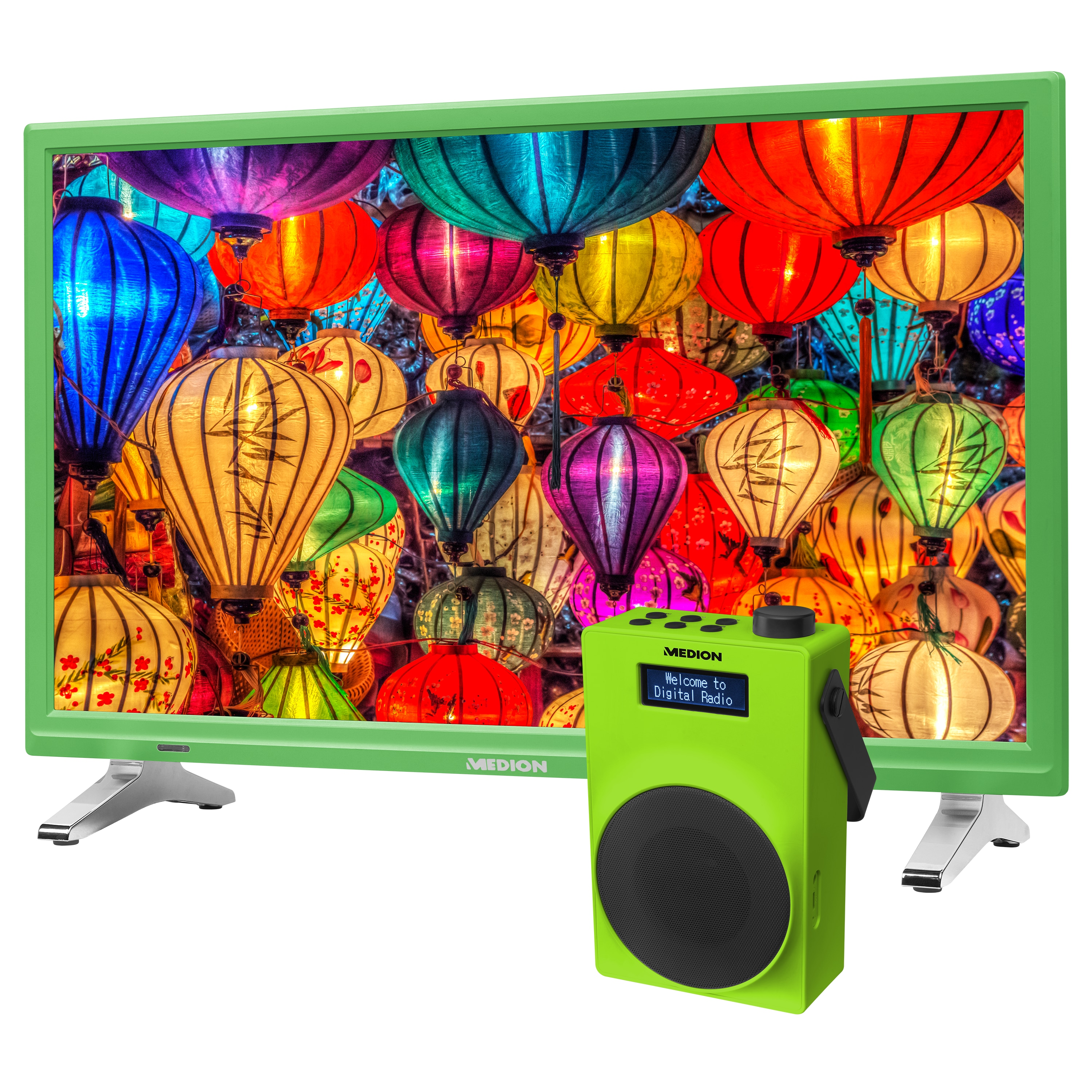 MEDION® LIFE® P13500 TV, 54,6 cm (21,5) LED-Backlight, HD Triple Tuner, CI+ inkl. DAB+ Radio E66880