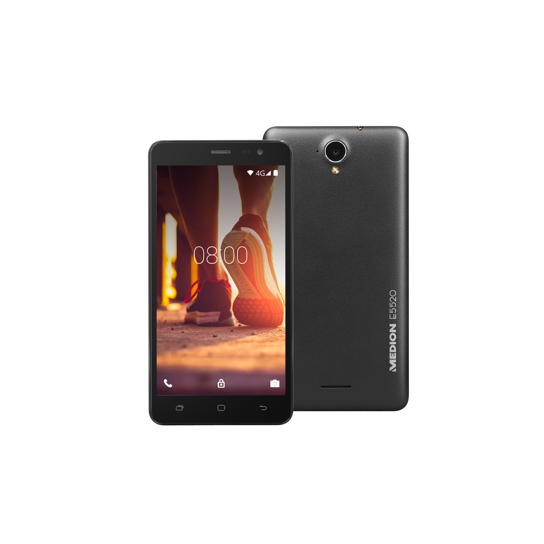 MEDION® LIFE® E5520 Smartphone, 13,97 cm (5,5) HD Display, Android™ 5.1, Lollipop, 32 GB Speicher, Quad Core Prozessor
