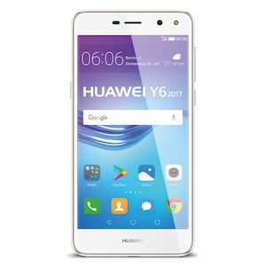 HUAWEI Y6 (2017) Smartphone, 12.7 cm (5,0) HD-Display, Android™ 6.0, 16 GB Speicher, Quad-Core-Prozessor