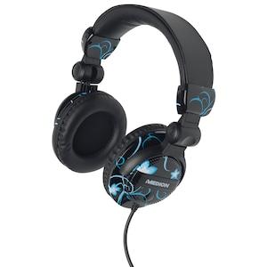 MEDION®  LIFE® E69131 Kopfhörer, Musikgenuss pur, Optimale Geräuschminimierung, Kräftiger Sound, Hoher Tragekomfort, schwarz