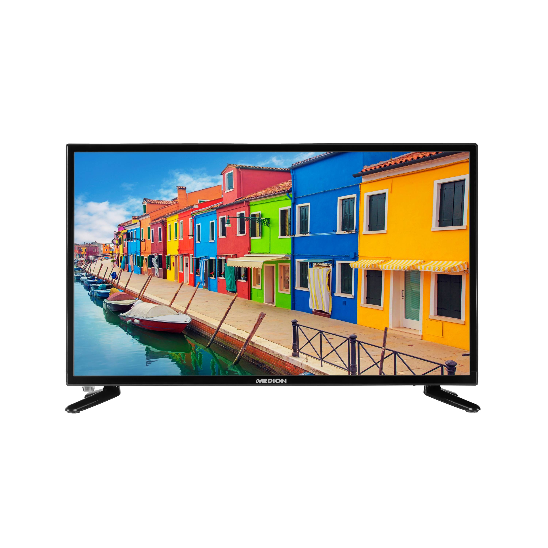 MEDION® LIFE® P14118 LED-Backlight TV, 59,9 cm (23,6) Full HD Display, HD Triple Tuner, integrierter Mediaplayer, CI+