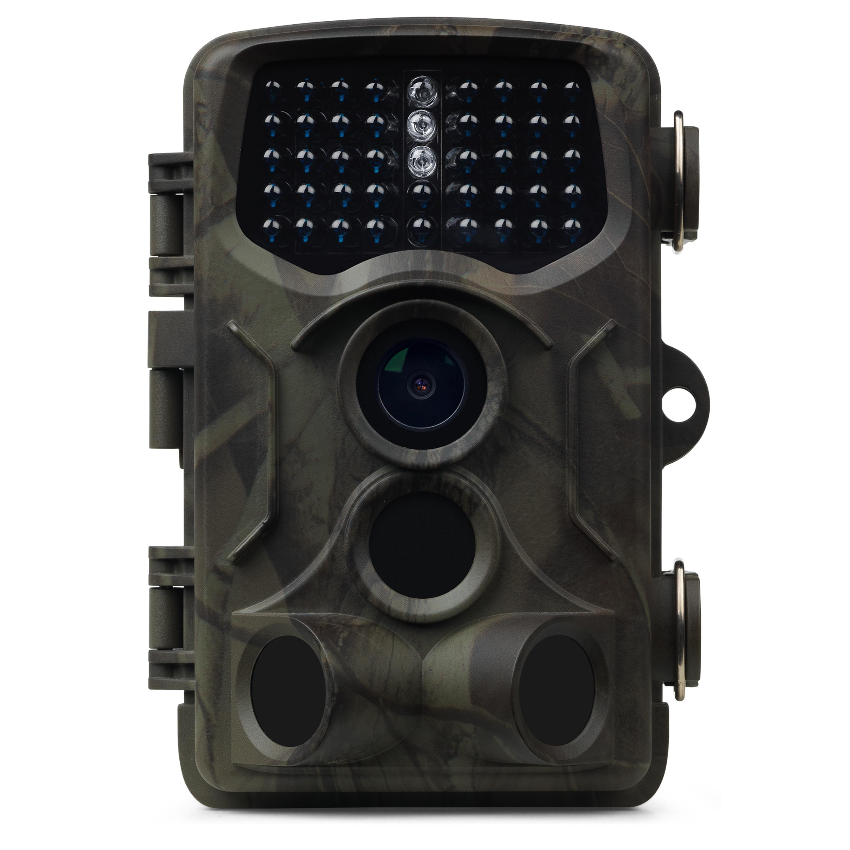 MEDION® S47044 Wildkamera mit getarntem Gehäuse, 5 Megapixel, Spritzwassergeschützt, Bewegungsmelder, 2,4 Display (B-Ware)