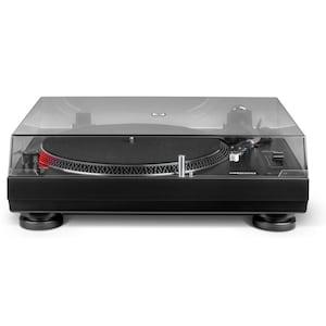 MEDION® LIFE® X64999 Plattenspieler, Stroboskopbeleuchtung, scratchgeeignet, integrierter Entzerrer-Vorverstärker, Aluminium-Guss-Plattenteller