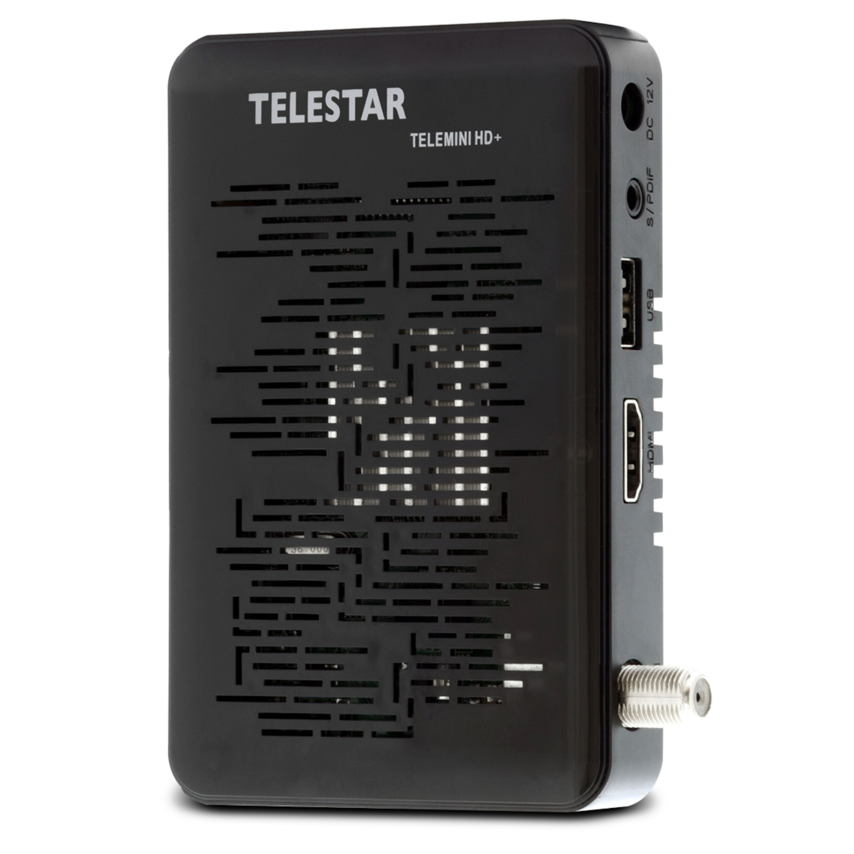 TELESTAR Telemini HD+ Satreceiver, HDMI, USB, inkl. Smartcard für 6 Monate HD+ gratis