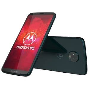 MOTOROLA moto z3 play Smartphone inkl. moto power pack, 15,2 cm (6) FHD+ Display, Android™ 8.1, 64 GB Speicher, Octa-Core-Prozessor, Dual-SIM, LTE