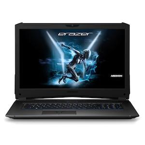 MEDION® ERAZER® X7855, Intel® Core™ i7-7700HQ, Windows 10 Home, 43,9 cm (17,3'') FHD Display, GTX 1060, 256 GB SSD, 1 TB HDD, 16 GB RAM, Gaming Notebook