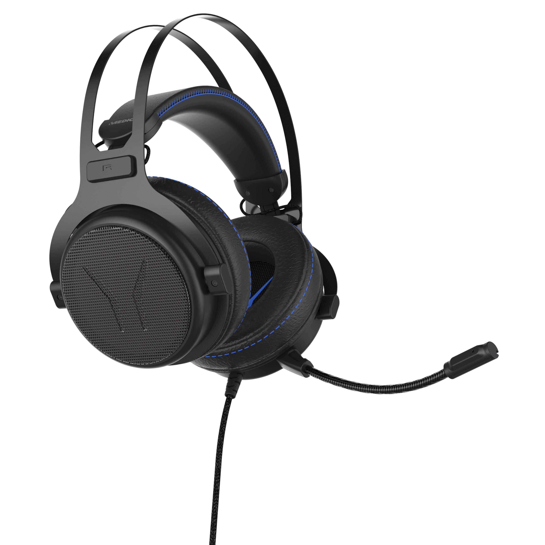 MEDION® ERAZER® X83017 7.1 Surround Gaming Headset mit High-Performance-USB-Adapter, Noise-Reduction, kompatibel mit Playstation 4, Xbox One, PC, Mac